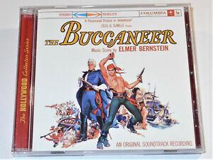 Elmer-Bernstein-THE-BUCCANEER-Yul-Brynner-Charlton-Heston-Soundtracks-DRG-CD-NM