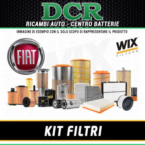 350/_ KIT FILTRI TAGLIANDO FIAT IDEA 1.4 77CV 57KW DAL 10//2005 WIX