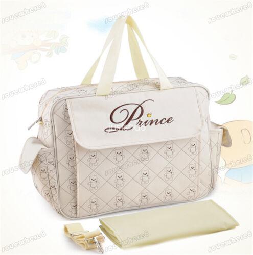 UK Mummy-Baby bag Nappy Changing Bag Shoulder Storage Handbag Diaper Mat