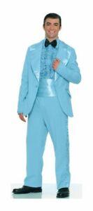 8ca38fe86d39 Prom King Costume Adult Standard Light Blue Suit Vintage Tuxedo ...