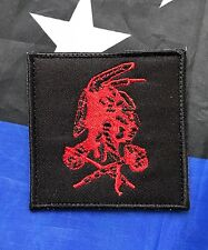 THE TRIBE Navy Seal Team 6 DEVGRU SOCCOM REDMEN Embroider Hk/Lp 3x3 Square Patch