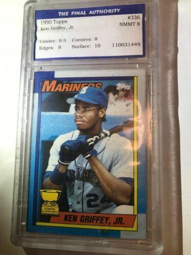 1990 Topps Ken Griffey Seattle Mariners 336 Baseball Card For Sale Online Ebay