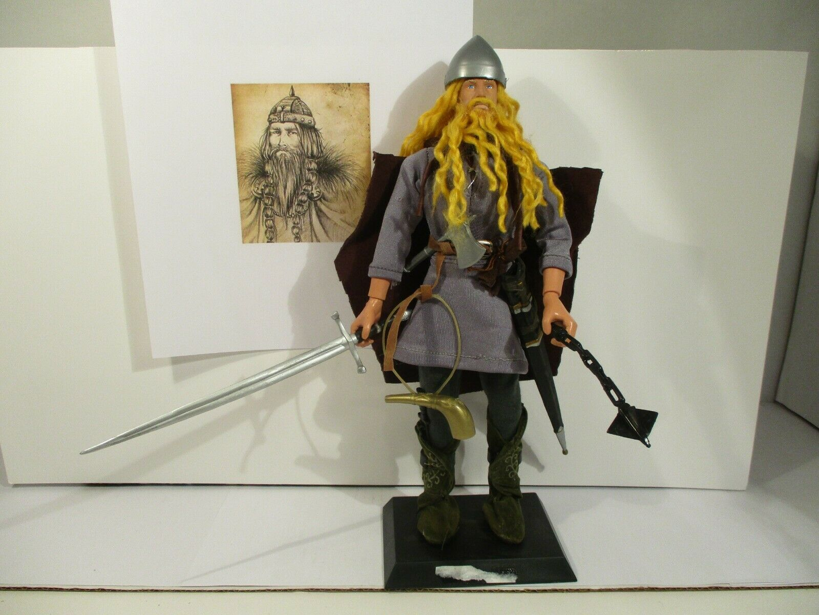 Harald blueetooth Gormsson King Denmark Norway 12  1 6 scale figure
