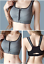 Women-Ladies-Sports-Bra-High-Impact-Front-Zip-Wireless-Padded-Cup-Vest-Tank-Top thumbnail 15