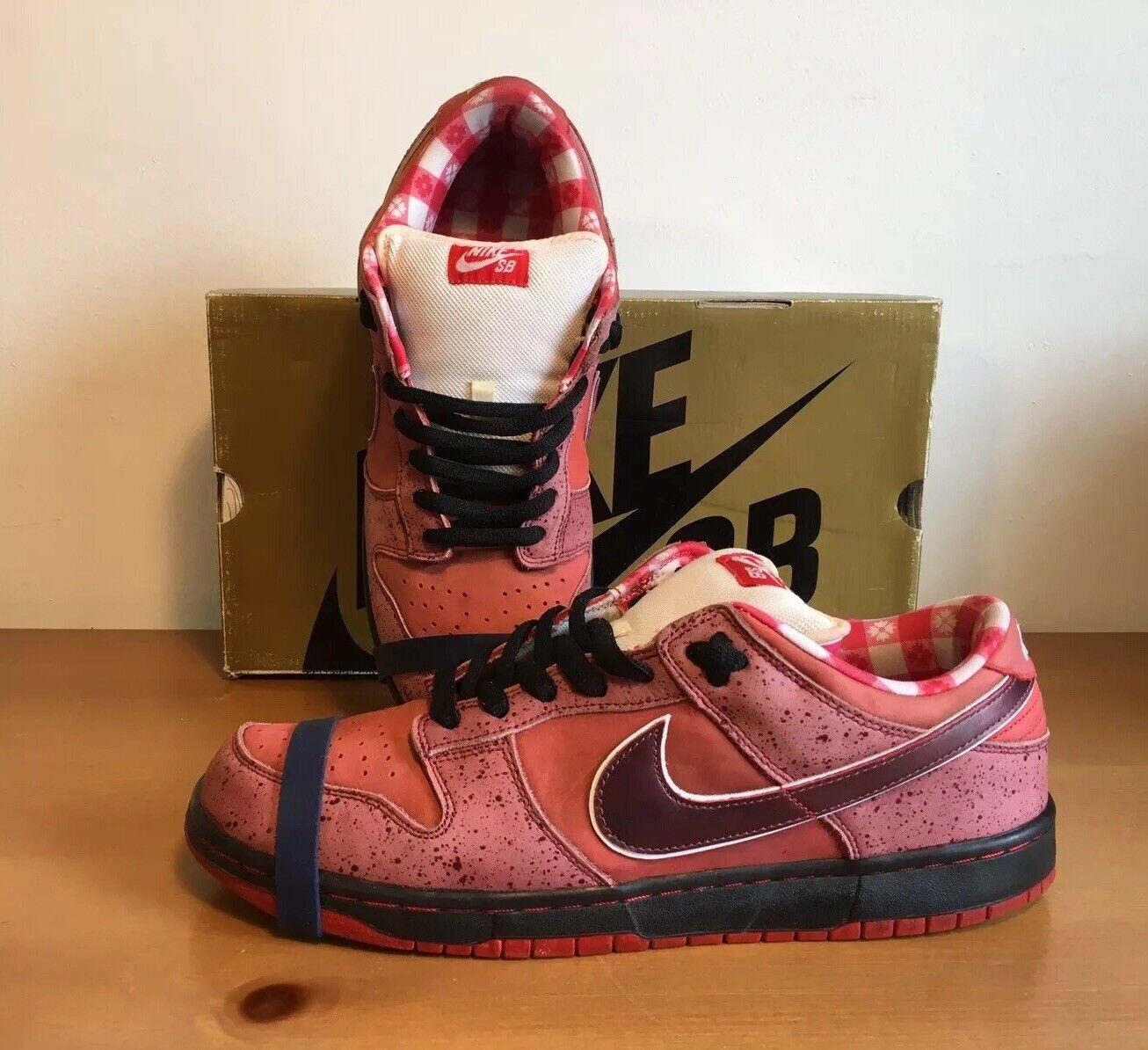 Nike Dunk SB Low Red Lobster 2008 VNDS Size 13 313170-661 og gold Box
