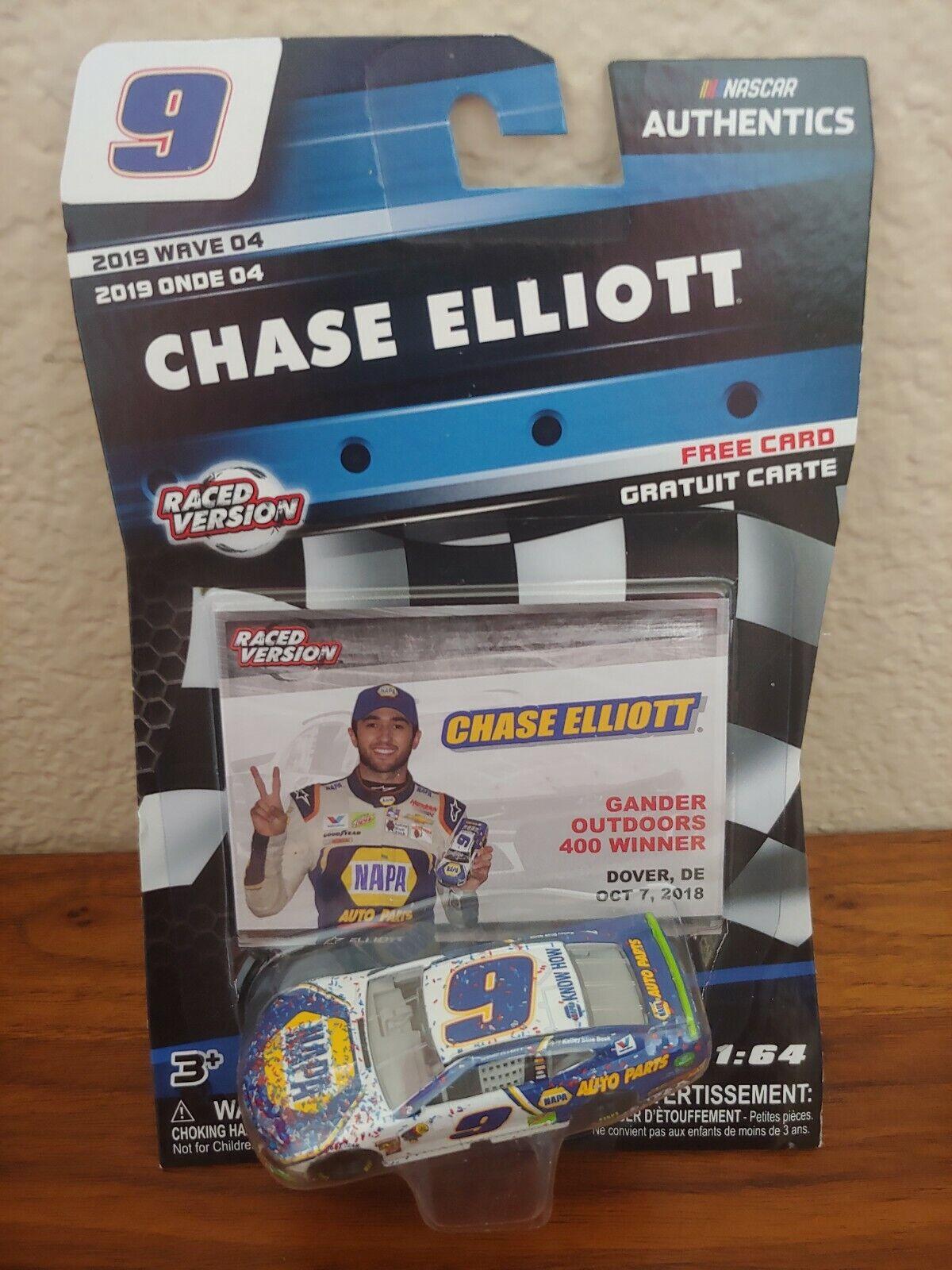 2019 Wave 4 Chase Elliott NAPA Dover Raced Win 1//64 NASCAR Authentics Diecast