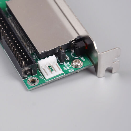 40 pin cf To ide compact flash memory card adapter universal pci bracket HV
