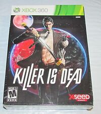 Killer Is Dead Limited Edition for Xbox 360 Brand New! Factory Sealed!