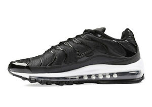 Details about NIKE AIR MAX 97 PLUS BLACK WHITE RUNNING TRAINING SHOE AH8144 001 MEN SIZE 11