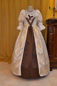Costume-di-Scena-Abito-Storico-Abito-d-039-Epoca-Costume-Storico-Barocco-1600-BM03