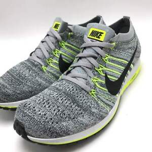 4ca34f2e3e5 Nike Flyknit Streak Men s Running Shoes Wolf Grey Black-Anthracite ...