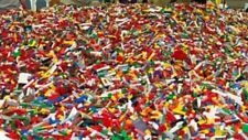 100 Small Lego Pieces FROM HUGE LOT- Bricks Parts Tiny Detail Parts RANDOM