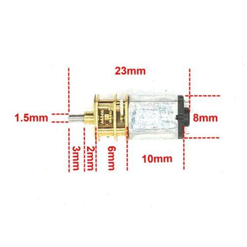 DasMikro 1//87 HO Scale Das87 K10 Reduction Deared Motor Spare Parts