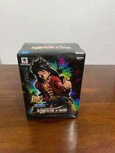 One Piece King of Artist The Monkey D Luffy Special Coloring Figure Toy In Box