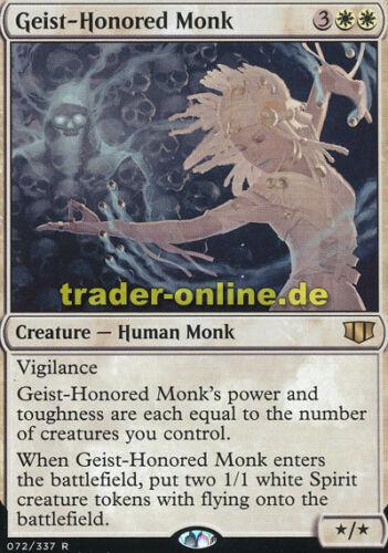 Geist-Honored Monk Commander 2014 Magic Von Geistern verehrter Mönch