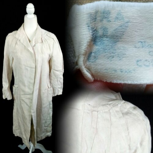 Vintage 1930s NRA Tagged 1933-1935 Ladies Linen Du