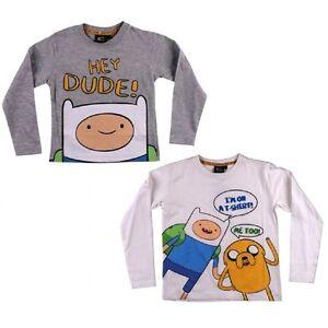 T-shirt-manica-lunga-Adventure-Time-abbigliamento-cartoni-animati-03574