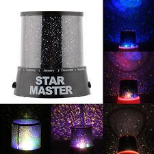 Romantic Cute Magic 4 LED Starry Sky Projector Night Light Lamp  Room Decor