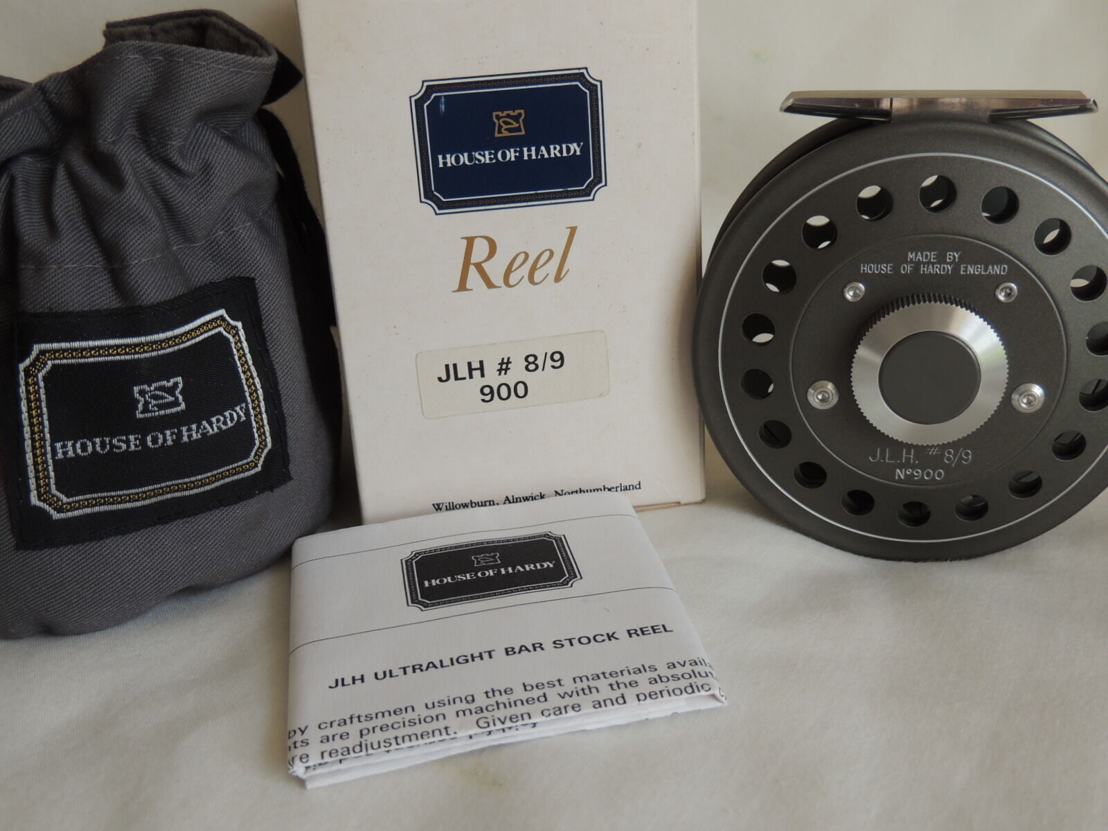HARDY J.L.H.  9 REEL no900 POUCH BOX NEU