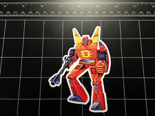 Transformers G1 Rodimus Prime box art vinyl decal sticker Autobot toy 1980's 80s