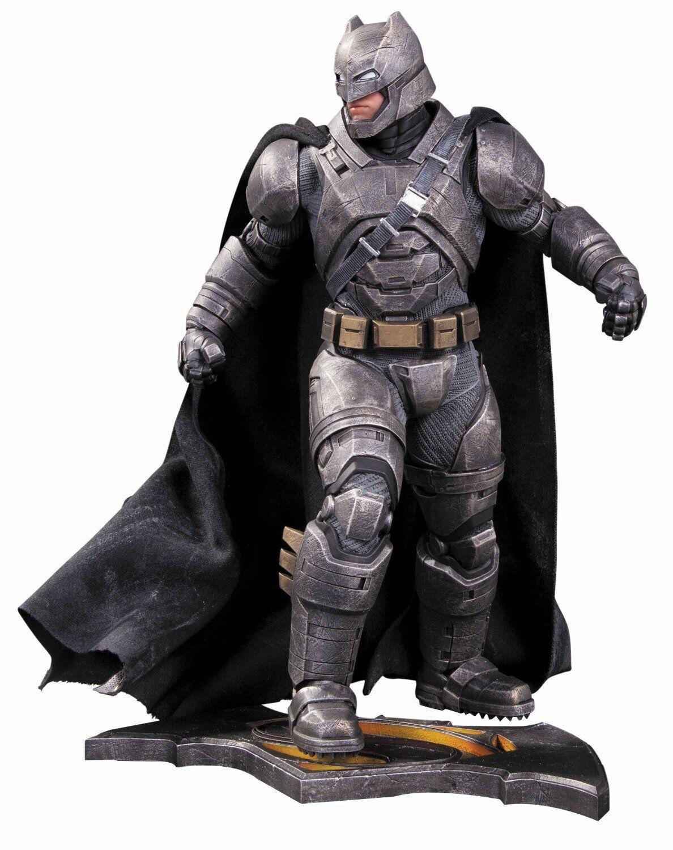 DC DIRECT DC COMICS BATMAN V SUPERMAN ARMOROT BATMAN STATUE 32 CM