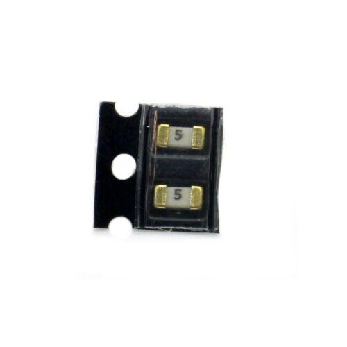 258fus319 2x Fusible SMD 1206-5A Rapide 32Vac Littelfuse