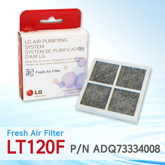 5X LG LT120F LT120F LT120F   ADQ73214404 Fresh Air Replacement Refrigerator Air Filter 035f4b