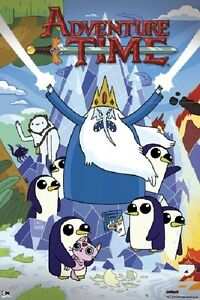 ADVENTURE-TIME-THE-ICE-KING-POSTER-61x91cm-PICTURE-PRINT-NEW-ART