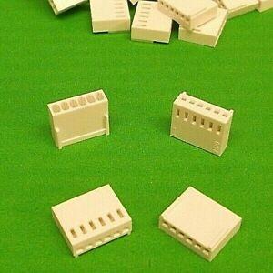 "Housing 8 way 50pcs Contacts 2.54mm Crimp Solder 0.1/"" Molex Type Latch x10pcs"