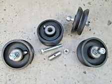 Band Sawmill Carriage Cast Iron Caster Wheels Carriage Rollers Steampunk Track V