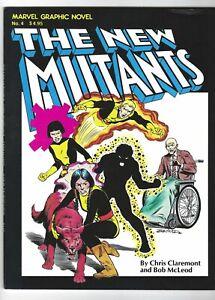 MARVEL GRAPHIC NOVEL #4 1st NEW MUTANTS 1st PRINT 8.0 VF, 1992 Marvel
