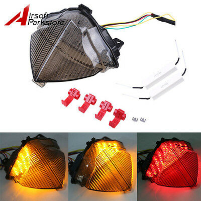 Clear LED Tail Light With Turn Signal for Yamaha YZF R1 YZF-R1 2004-2006 2005 P
