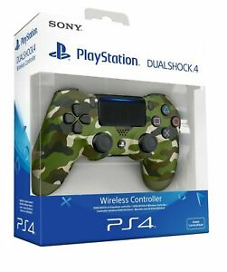 Sony-ps4-Dualshock-4-V2-GREEN-CAMOUFLAGE