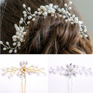 Gorgeous-Wedding-Bridal-Hair-Accessories-Pearl-Flower-Hair-Pin-Hair-Stick-Beauty