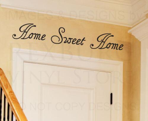 Wall Decal Quote Sticker Vinyl Art Lettering Decorative Home Sweet Home H16