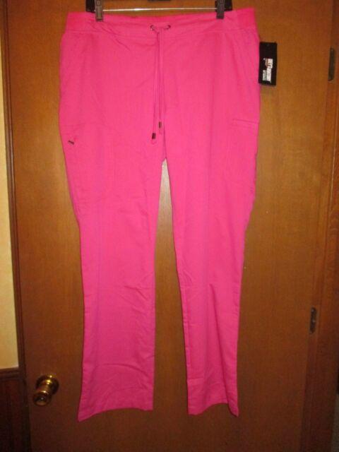 0e52f1bf1d6a7 NWT L Grey's Anatomy Mauve Scrub Scrubs Pants Waist 19-21