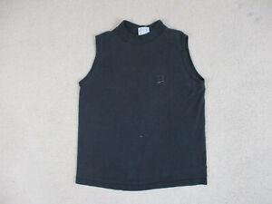 VINTAGE-Reebok-Shirt-Adult-Large-Black-Gray-Sleeveless-Cotton-Gym-Mens-90s