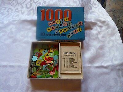 1000 Worte 10 Heitere Denkspiele Nr. 26412 Altes Kinderspiel Kinder Spiel