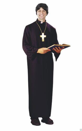Da Uomo Vicar Costume Addio Al Celibato Notte Dressing up outfit con CROCE Religiosa adulti maschi
