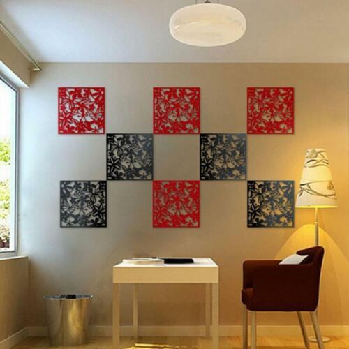 Conjunto de 4Pcs Pantalla Colgante De Pared partición divisores de habitación pegatinas de pared Calcomanías