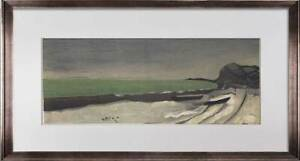 "Georges BRAQUE Limited Edition Lithograph SIGN ""..Seaside""  w/Frame"