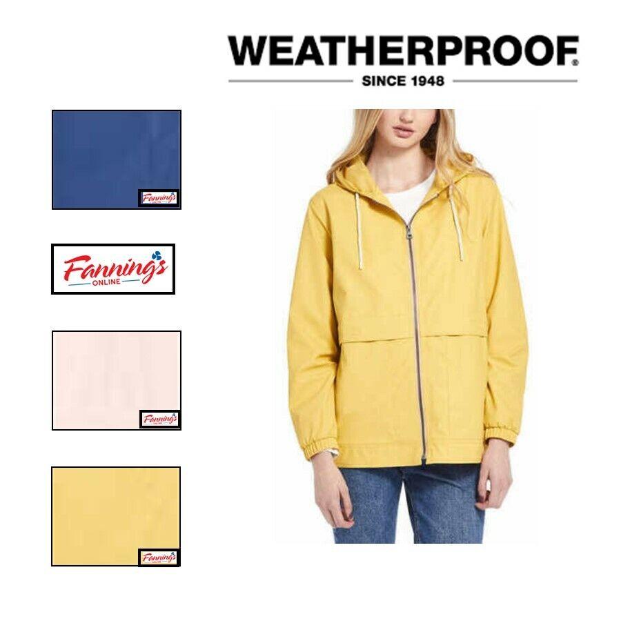 SALE!! Weatherproof Women's Rain Slicker Jacket Coat VARIETY SIZE & COLOR - J52
