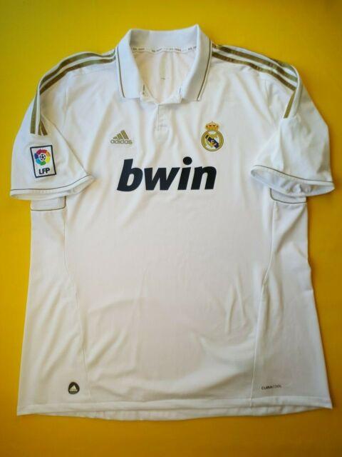 online store d646b 2dec9 Real Madrid Tricot Home 2011/12 adidas Shirt Maillot Camiseta Maglia L XL