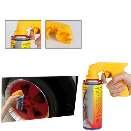 Paint Care Aerosol Spray Gun Handle with Full Grip Trigger Locking Collar Tool