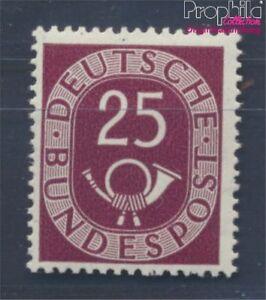RFA-Alemania-131-nuevo-con-goma-original-1951-corneta-de-posta-8297231