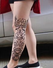 Einmal Tattoo Full Arm Tattoo XXL Full Arm Tribal Fake Tattoo  43x16cm QB-3032