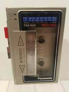 PANASONIC RX-S28 AM FM Portable Stereo Radio Cassette Tape Player Recorder AS IS