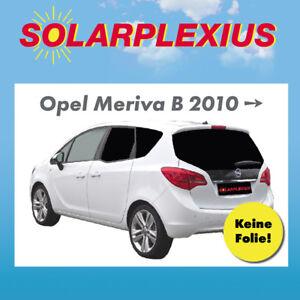 Auto-Sonnenschutz-Toenung-Vorsatzscheiben-keine-Folie-OPEL-MERIVA-B-ab-10