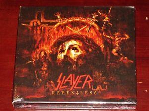 98fc4b4dc7fba Slayer  Repentless - Deluxe Limited Edition CD + DVD Set 2015 Bonus ...