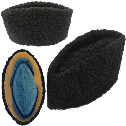 Jinnah Karakul-Handmade-Cap-Persian-Lamb-Kufi-Fur-Sheep-Broad-Tail-Hat-Men